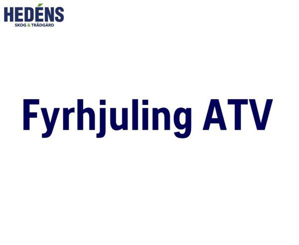 Fyrhjuling ATV