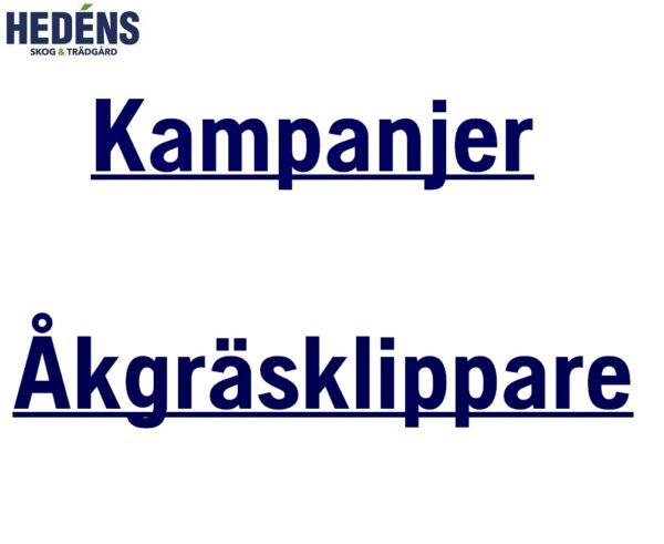 Kampanjer Åkgräsklippare