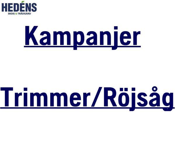 Kampanjer Trimmer/Röjsåg