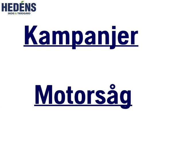 Kampanjer Motorsåg